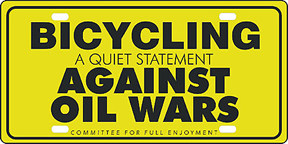 Yellow Oil war sign