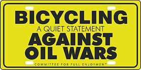 Yellow Oil war sign